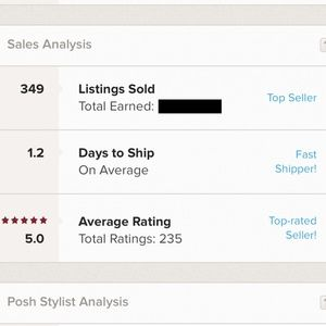 I am a Top-rated seller and fast shipper!